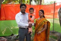 Comunidad bengalí en Kolkata Imágenes de archivo libres de regalías