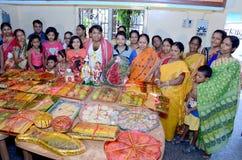 Comunidad bengalí en Kolkata Fotos de archivo
