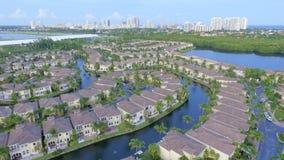 Comunidad cercada de la Florida Fotos de archivo