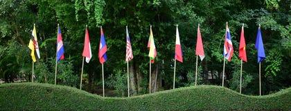 Comunidad de la ANSA, bandera Imagen de archivo