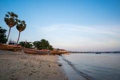 Comunidad de la industria pesquera en Tailandia Imagen de archivo libre de regalías