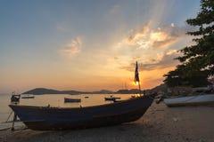Comunidad de la industria pesquera en Tailandia Foto de archivo libre de regalías