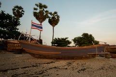 Comunidad de la industria pesquera en Tailandia Foto de archivo