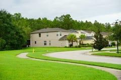 Comunidad de las palmas de Tampa Imagen de archivo libre de regalías