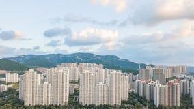 Comunidad de Lingxiucheng en Jinan 1 imágenes de archivo libres de regalías
