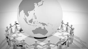 Comunidad global ilustración del vector
