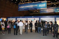 Comunidad inteligente de los sistemas IDF2012 Imagen de archivo