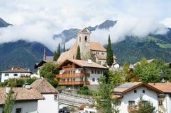 Comunidad Scena en el Tyrol del sur Fotografía de archivo libre de regalías