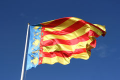 Comunidad Valenciana - flag Stock Photography