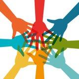 Comunidad y social libre illustration