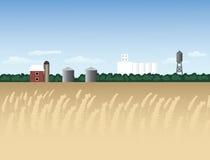 A comunidade americana rural Fotografia de Stock Royalty Free