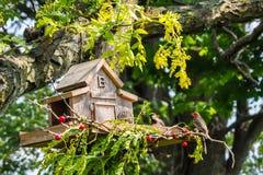 A comunidade da casa na árvore Imagem de Stock