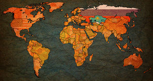 Comunidade de estados independentes Imagens de Stock