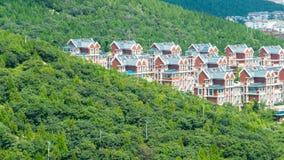 A comunidade de Langmaoshan em Jinan fotos de stock