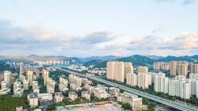 A comunidade de Lingxiucheng em Jinan 2 imagem de stock