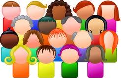 A comunidade diversa Fotos de Stock
