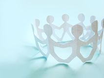 A comunidade dos povos Imagem de Stock