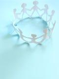 A comunidade dos povos, conceito Imagens de Stock Royalty Free