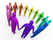 A comunidade empresarial #3 Foto de Stock