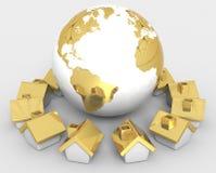 A comunidade global Imagens de Stock Royalty Free