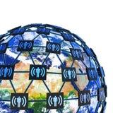 A comunidade global Imagem de Stock