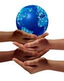 A comunidade global da educação ilustração stock