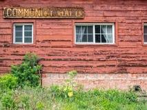 A comunidade idosa Salão Fotografia de Stock Royalty Free