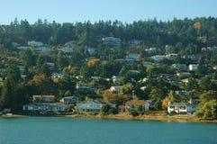 A comunidade litoral Imagens de Stock