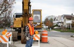 A comunidade nova de construção Fotos de Stock Royalty Free