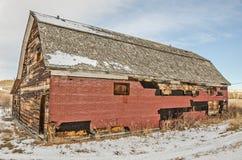 A comunidade Salão de Forner em Montana rural Fotografia de Stock Royalty Free