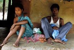 A comunidade tribal em Orissa Imagem de Stock Royalty Free