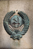 comunismsymbol royaltyfria bilder