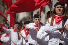 Comunistas jovenes Fotos de archivo libres de regalías