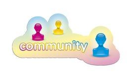 Comunità Immagine Stock