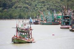 comunità dei pescatori e del peschereccio fotografia stock libera da diritti