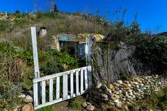 Comunità della caverna Granada - in Spagna fotografia stock libera da diritti