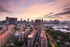 Comunità in Fujian, Cina Fotografia Stock Libera da Diritti