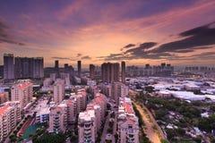 Comunità in Fujian, Cina Fotografie Stock