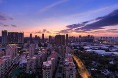 Comunità in Fujian, Cina Immagini Stock Libere da Diritti