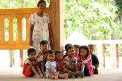 Comunità indigene di Samin Fotografia Stock