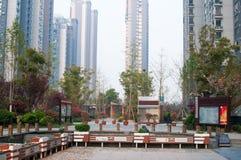 Comunità residenziale cinese Immagini Stock Libere da Diritti