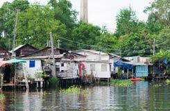 Comunità tailandese tradizionale a Bangkok Immagine Stock