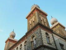 Comunita'Ebraica二托里诺,Synagoge在都灵 意大利 免版税库存照片