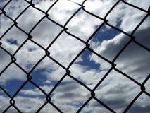 Comunque una rete fissa Fotografia Stock Libera da Diritti