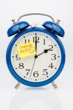Comutação do tempo às horas de verão Imagem de Stock
