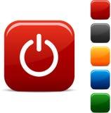 Comute ícones. ilustração stock