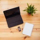 comuter laptop Zdjęcie Stock