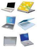 conçoit l'ordinateur portatif Photo libre de droits