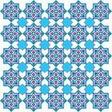 Conçu avec des nuances des séries bleues cinq de modèle de tabouret illustration libre de droits