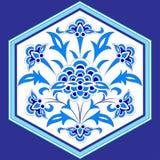 Conçu avec des nuances des séries bleues douze de modèle de tabouret illustration de vecteur